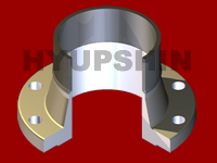 Jinan Hyupshin Flanges Co., Ltd, Forged Flanges, Steel Flanges, Manufacturer, Exporter from Shandong of China, welding neck flange type